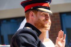 Prince Harry and Meghan Markle wedding Royalty Free Stock Photo