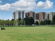 Free Royal Wharf Is A Residential And Commercial Development In Newham, London Located Near The Thames Barrier, London Royalty Free Stock Photos - 217600948