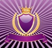 Royal wheat purple Stock Image
