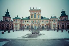The Royal Wilanow Palace Royalty Free Stock Photo