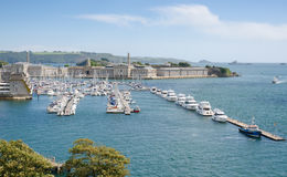 The Royal William Yard, From Mount Wise Royalty Free Stock Image