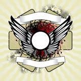 Royal wings stock illustration