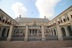 The Royal working palace named Noordeinde in The Hague of king Willem Alexander in the Netherlands. The Royal working palace named Noordeinde in The Hague of stock photos