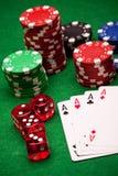 Royale de casino Image libre de droits