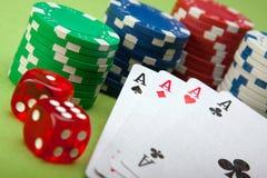 Royale del casino imágenes de archivo libres de regalías