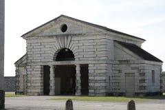 Royale salin dans l'arc et le Senans Bâtiment historique fait par l'architecte de Claude-Nicolas Ledoux, dans l'arc et les France photographie stock libre de droits