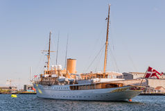 Royale Yacht Dannebrog Stock Photography