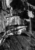 Royales bei Yosemite mit kleinen Wasserfällen Lizenzfreies Stockfoto