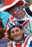Royalist orgulloso Terry Hutt Imagen de archivo