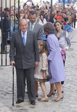 Royals 013 Испании Стоковое Изображение RF