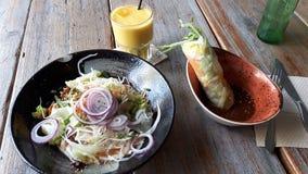 Royals y Jackfruit-curry del arroz imagen de archivo libre de regalías