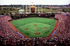 Royalsstadion, Kansas City, MO Royalty-vrije Stock Foto's