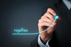Royalties increase Stock Images