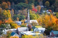 Royalton du sud dans le temps d'automne photographie stock