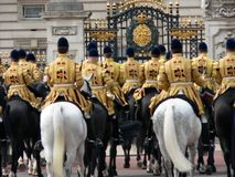 Royalty. Royal horseguards stock images