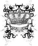 Royalty dragon crown Royalty Free Stock Photos