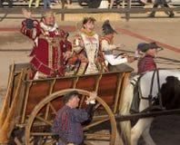 Royalty för Arizona renässansfestival Arkivfoto