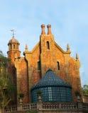 Royaume de magie de manoir hanté par monde de Disney Image libre de droits