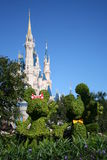 Royaume de magie de Walt Disney Images libres de droits