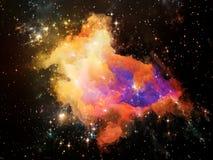 Royaumes de l'espace Photo stock