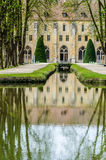 Royaumont Abbey outside view, France Stock Photography