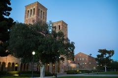 Royce Hall en la Universidad de California, campus de Los Ángeles Foto de archivo libre de regalías