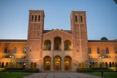 Royce Hall en la Universidad de California, campus de Los Ángeles Imagen de archivo