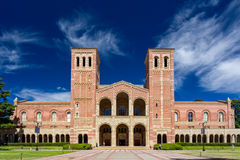 Royce Hall at UCLA. LOS ANGELES, CA/USA - OCTOBER 4, 2014: Royce Hall on the campus of UCLA. Royce Hall is one of four original buildings on UCLA's Westwood Stock Images