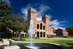 Royce Hall at UCLA Royalty Free Stock Image