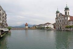 Royce im alten Teil der Luzerne Lizenzfreie Stockbilder