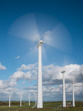 Royd Moor Wind Farm, Yorkshire Imagen de archivo