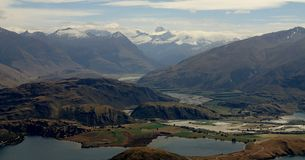 Roys Peak Summit, Wanaka, New Zealand Royalty Free Stock Images
