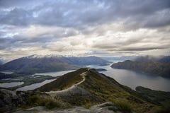 Roys peak new Zealand mountain royalty free stock images