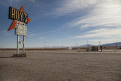 Roys Sign, Amboy Stock Images
