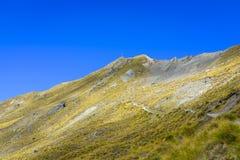 Roys szczyt blisko Wanaka fotografia stock