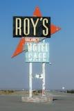 Roys tecken för kaféneon Royaltyfri Fotografi