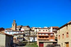 Royuela village Sierra de Albarracin Teruel Spain Royalty Free Stock Photography