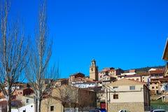 Royuela village Sierra de Albarracin Teruel Spain Royalty Free Stock Image