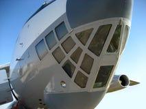 rozładunek ładunku statku powietrznego Fotografia Stock