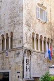 Rozłam, Chorwacja Ciprianis-Benedetti pałac fotografia stock