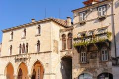 Rozłam, Chorwacja Stary urząd miasta Fotografia Royalty Free