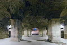 Rozłam. Metro Diocletian pałac Obraz Royalty Free