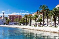 Rozłam w Dalmatia obraz royalty free