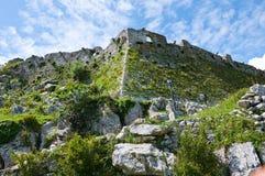 """Rozafa城堡, Shkodà """"r,阿尔巴尼亚 图库摄影"""