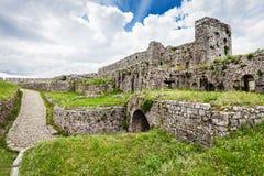Rozafa城堡 免版税库存照片
