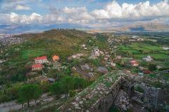Rozafa Castle και απόψεις στοκ φωτογραφία