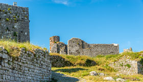 Rozafa castle ruins Stock Photography