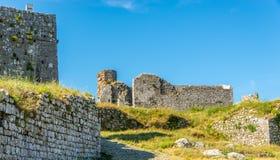 Rozafa castle ruins. Near Shkodra city Stock Photography