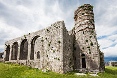 Rozafa Castle Royalty Free Stock Photos