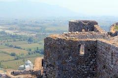 Rozafa Schloss Stockbild